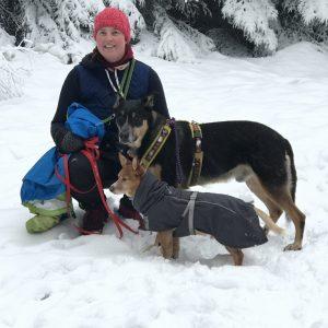 Anne Rosengrün Dogwalker Ausbildung Hundebetreuung Dogwalking Nürnberg Fürth Sanny's Hundeservice Rosengruen